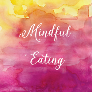 Mindful Eating Watercolor_yellow pink